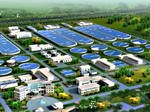长沙市敢胜垸污水处理厂