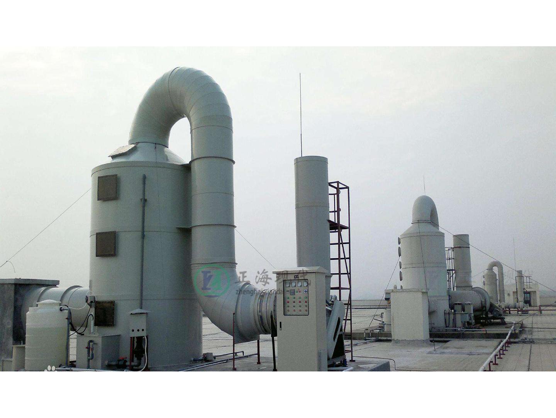 无机废气处理装置(喷淋塔处理装置)